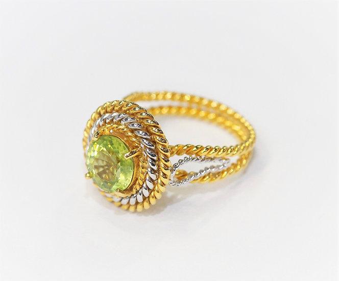 phoenixjewelry Peridot ring