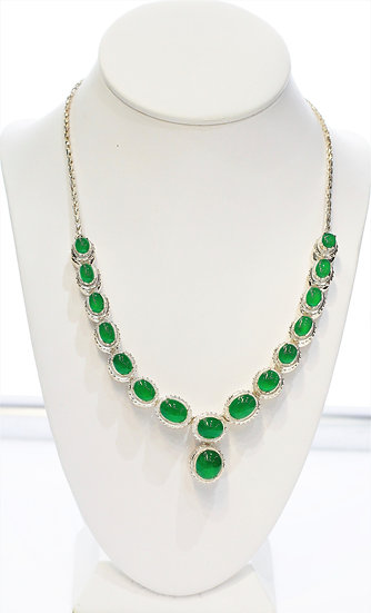 phoenixjewelry jade necklace