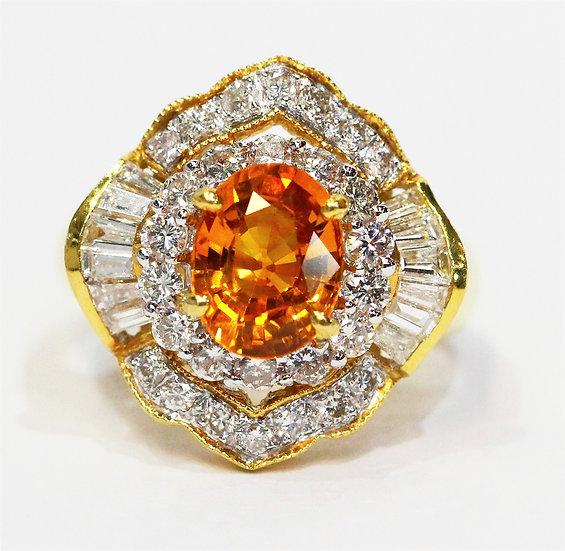 Ceylon Yellow Sapphire Ring