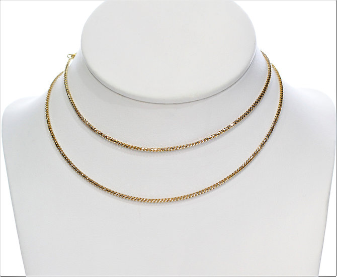 """Gold 24"""" necklace"""