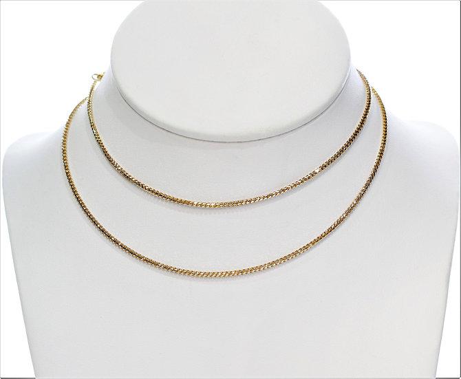 """Gold 24"""" phoenixjewelry necklace"""