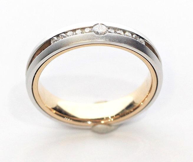 (promotion)  Row diamond Phoenixjewerly ring