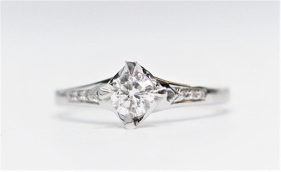 GIA diamonds wedding ring