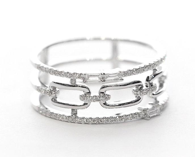 Layered diamond Phoenixjewerly ring