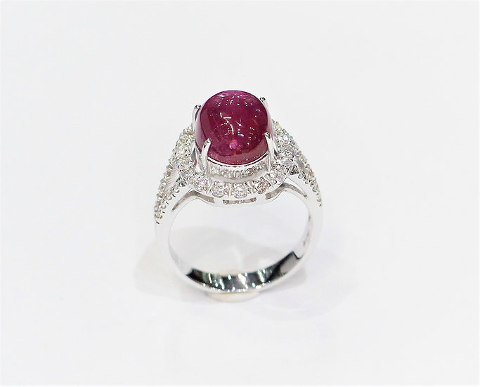 Africa ruby ring