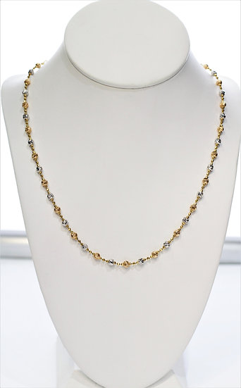 "Gold 18"" Necklace"