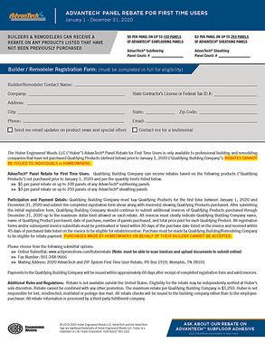 AT - 2020 FTU Builder Rebate Form - HUB