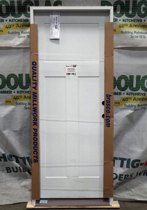 Brosco Craftsman Exterior Prehung Steel Single Door - EC4-B