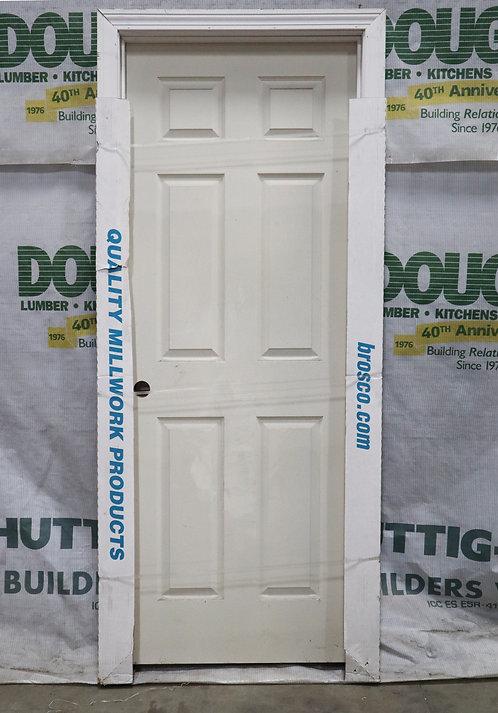 Brosco Colonial 6 Pannel Interior Prehung Molded Hollow Core Single Door - EC5-L