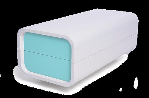 rakev design bílá coffin