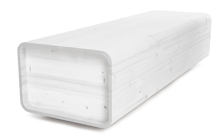 rakev dřevo basic bílá