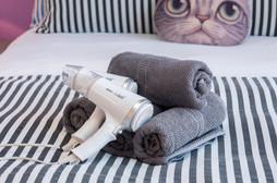 Hair dryers Towels