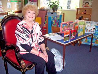 Margaret Roc visits Handley Avenue Pre-School