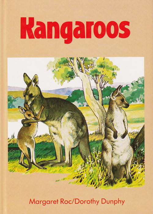 Kangaroos by Margaret Roc