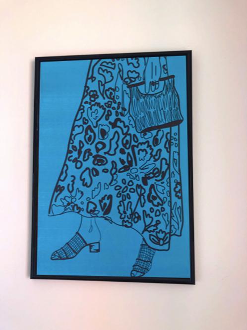 Memphis Skirt A3 Print
