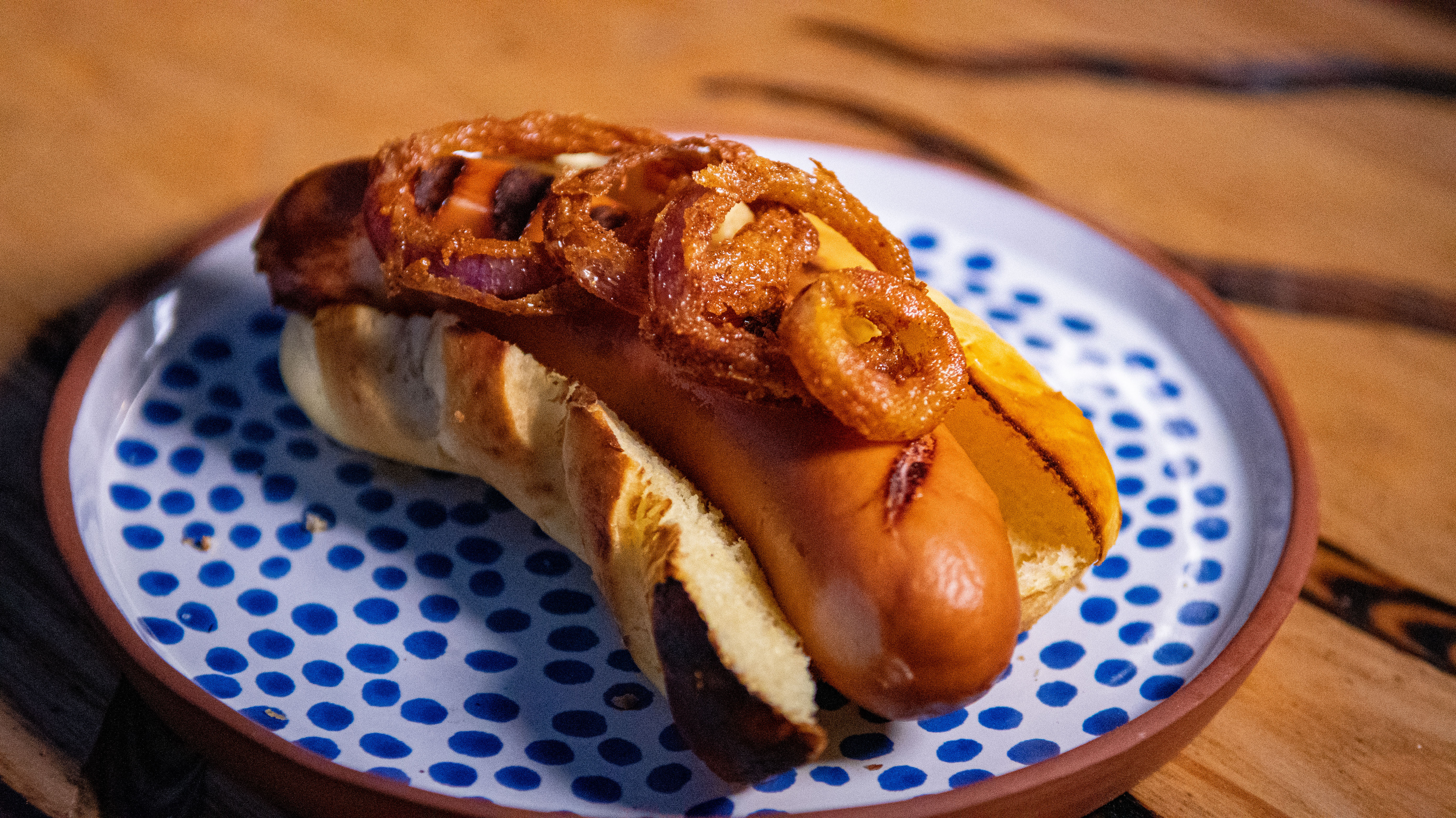 Hot Dog With Onions Low Res