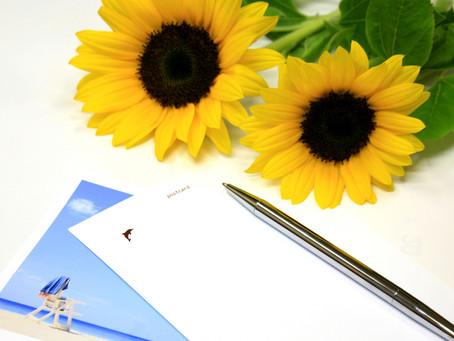 【定員に達しました】5/29 初のオンライン手紙のセミナーを開催します。