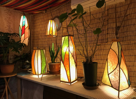 Workshop:  Japanese paper lantern (AKARINE)