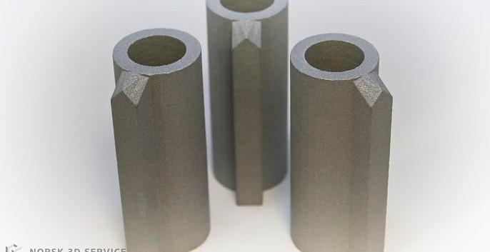 3D print i alumide materiale