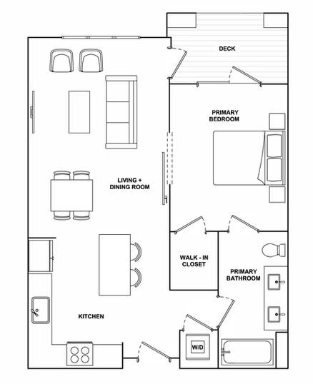 A1- 735 sq ft