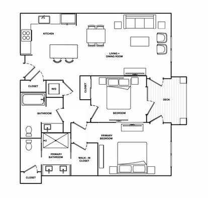 B4- 1,096 sq ft
