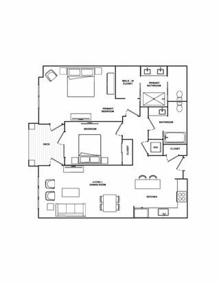 B2- 1,180 sq ft