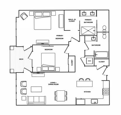 B2- 1,203 sq ft