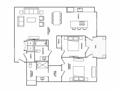 B8- 1,263 sq ft