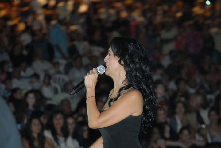 ריטה במופע עצמאות