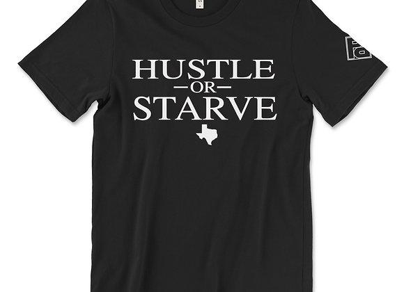 """Hustle or Starve"" Solid Tee"