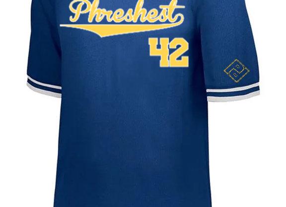 """PHRESHEST 42"" Retro Baseball Jersey"
