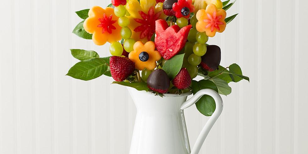 £15 - Fruit Art & Baking - Fruit Bouquet