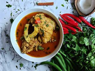 Kerelan Chicken Curry - an inspired recipe