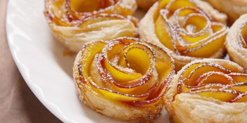£15 - Fruit Art & Baking - Baked Apple Roses