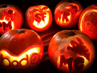 Halloween and Bon Fire inspired Carving 2015