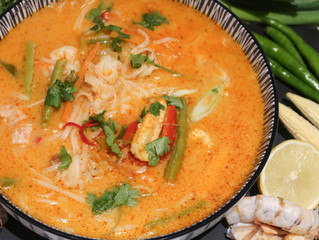 Creamy Tom Yum Soup