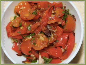 tomato and red pepper salsa