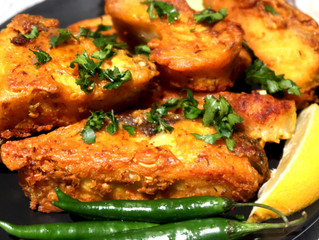 Lahori Style Fried Fish