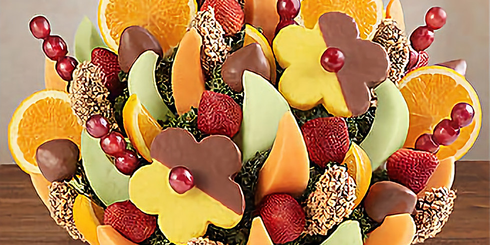 FRUIT BOUQUET - £35pp BOOKED BOOKED