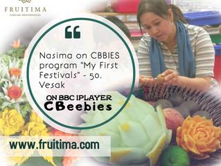 Nasima Khatun on CBeebies