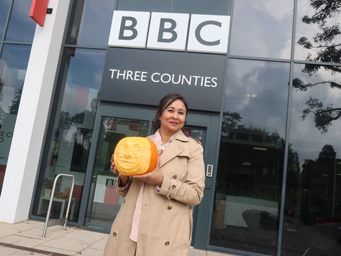 BBC Three Counties Interview with Nasima