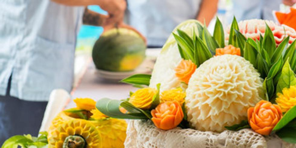 Fruit Carving Workshop - An Introduction £65