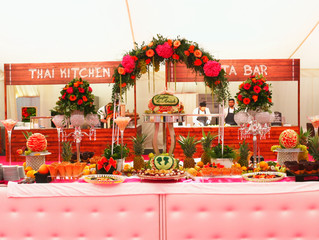 Anish & Rupa's Summer Wedding 2015 - Fruit and Vegetable Carving