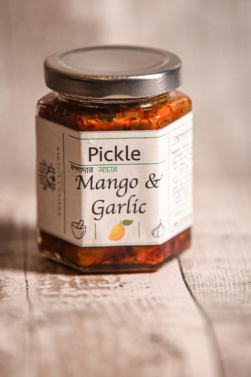 Mango and Garlic Pickle