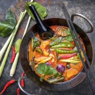 Thai Red Curry - Veg