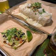 Burrito with Taco