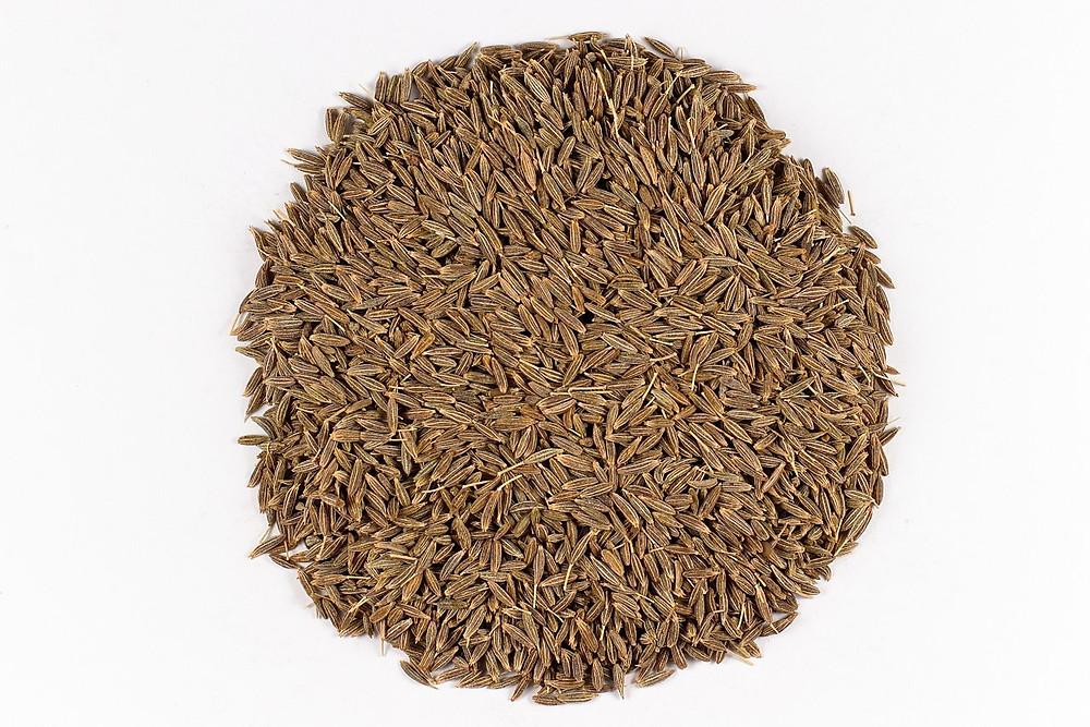 Cumin seeds (jintan or djintan)