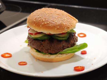Burger Daging Sapi (Indonesian beef burger) Recipe