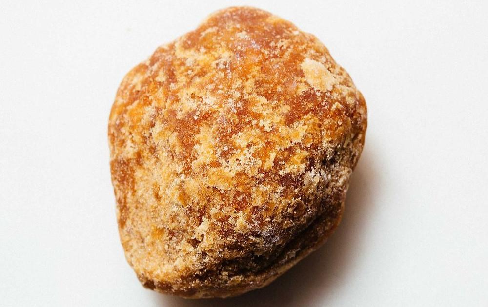 Palm sugar block (gula jawa or gula djawa)