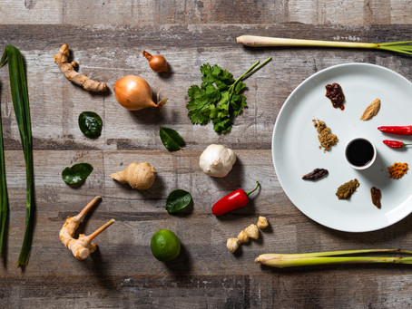 Key ingredients of Indonesian cuisine and cooking